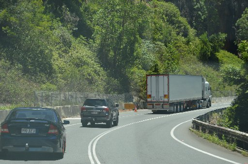 OPEN AGAIN: The Cunningham Highway has re-opened this afternoon.
