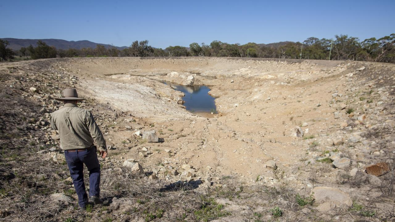 NO END IN SIGHT: People are becoming desperate as dams reach new lows. Photo: David Martinelli