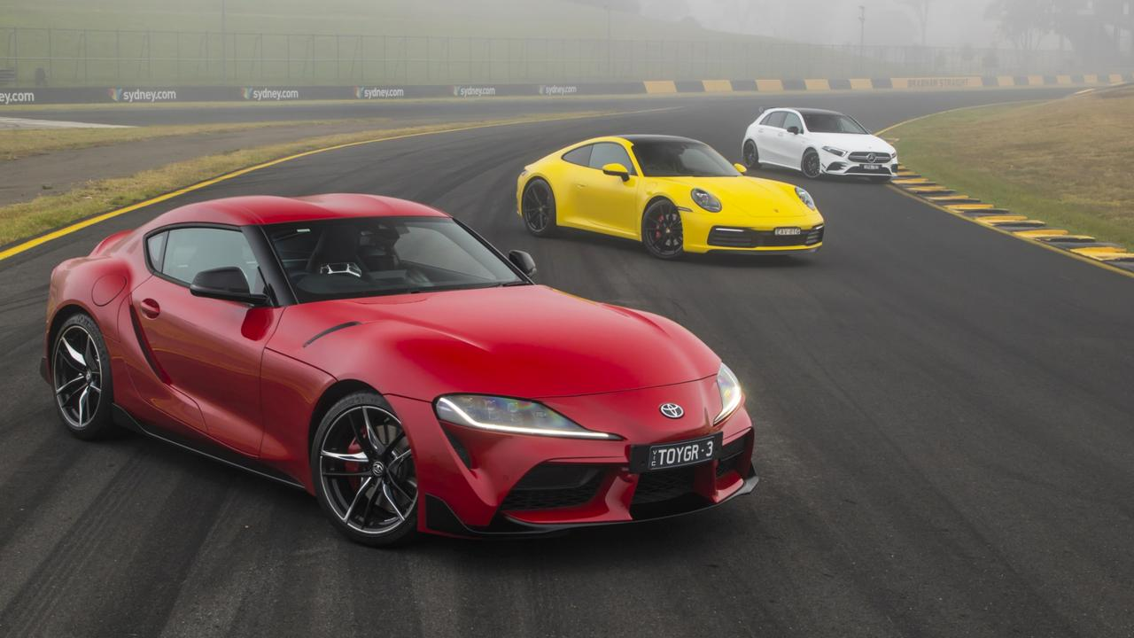 The Toyota Supra is a core part of the brand's resurgence. Picture: Mark Bean