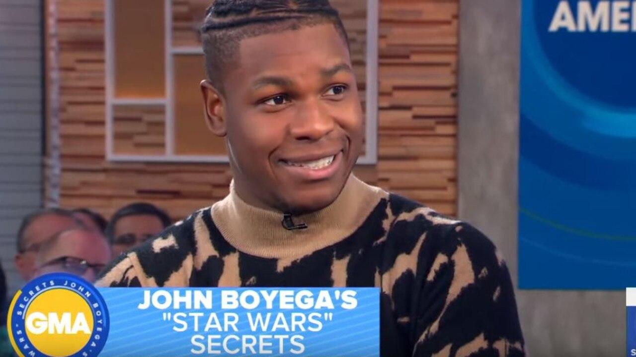 """John Boyega explained how his """"Rise of Skywalker"""" script ended up on eBay."""