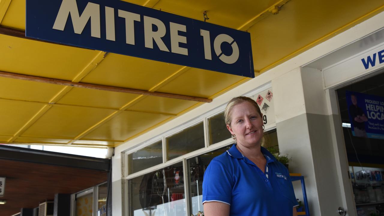 SHOP LOCAL: Monto Mitre 10 owner Jocelyn Miller, who owns the business alongside husband Brett. Photo: Alex Treacy