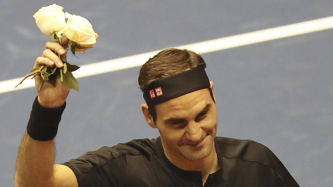 Ever-popular Roger Federer. Picture: AP Photo/Dolores Ochoa