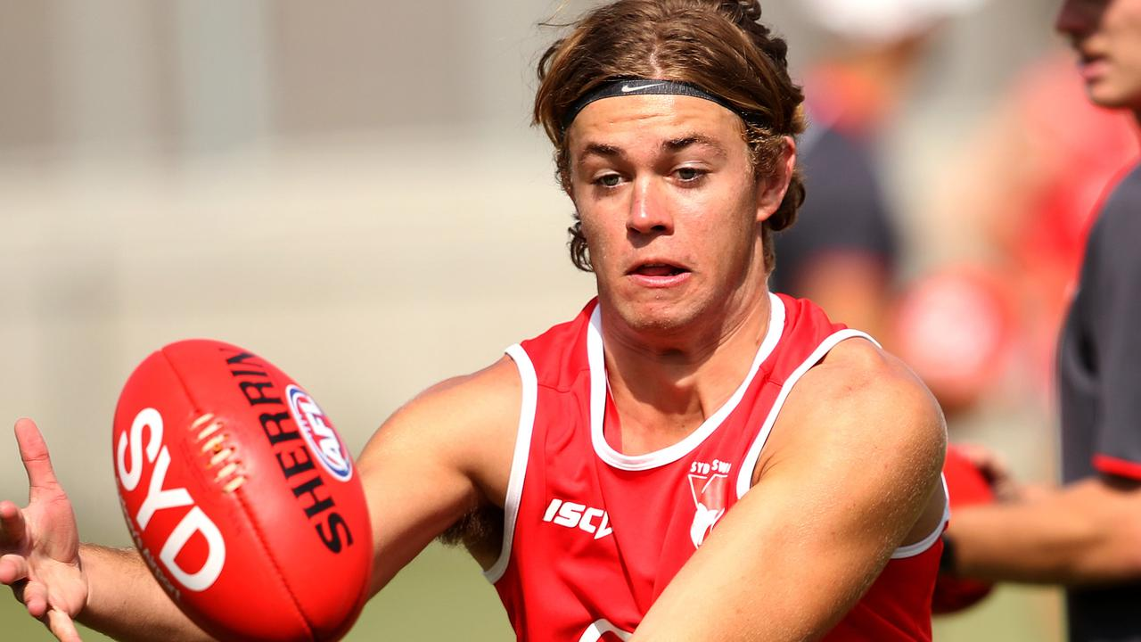 James Rowbottom was drafted by the Swans last year. Picture: Phil Hillyard