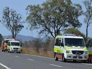 Campervan crash on Burnett Hwy
