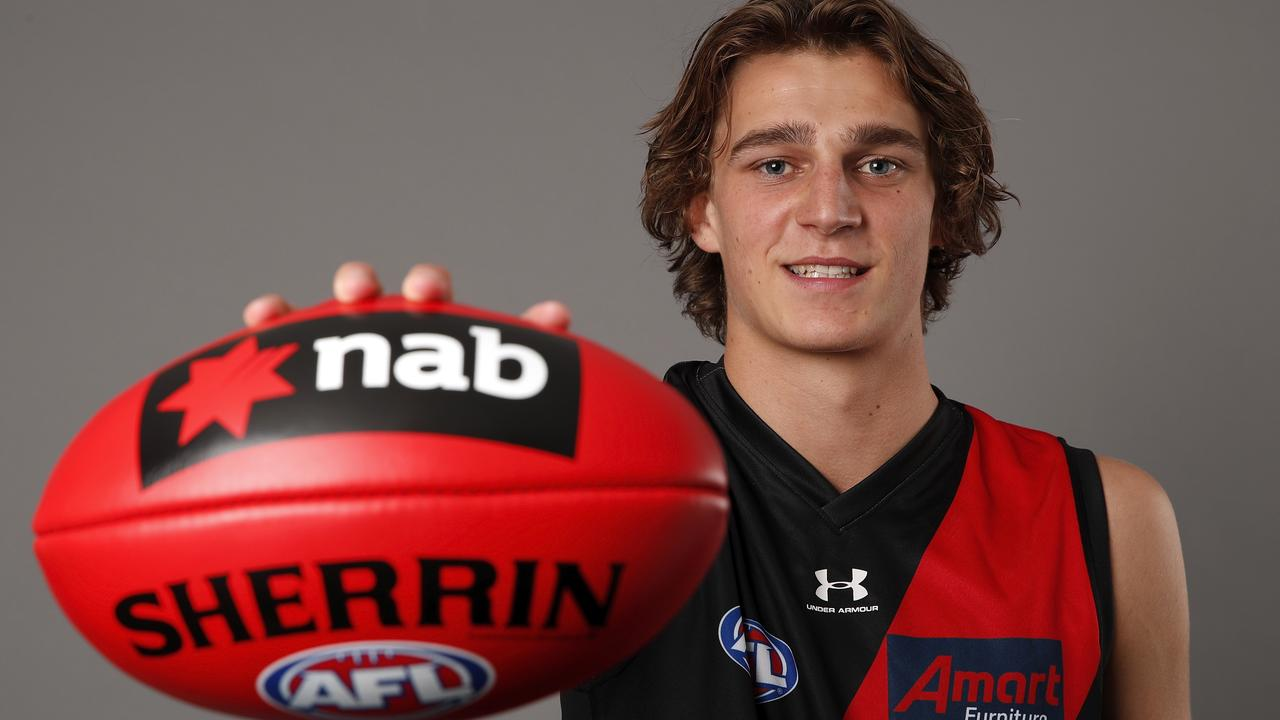Essendon's top pick Harrison Jones.
