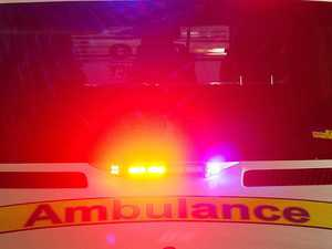 JUST IN: Car rolls down embankment in Gympie
