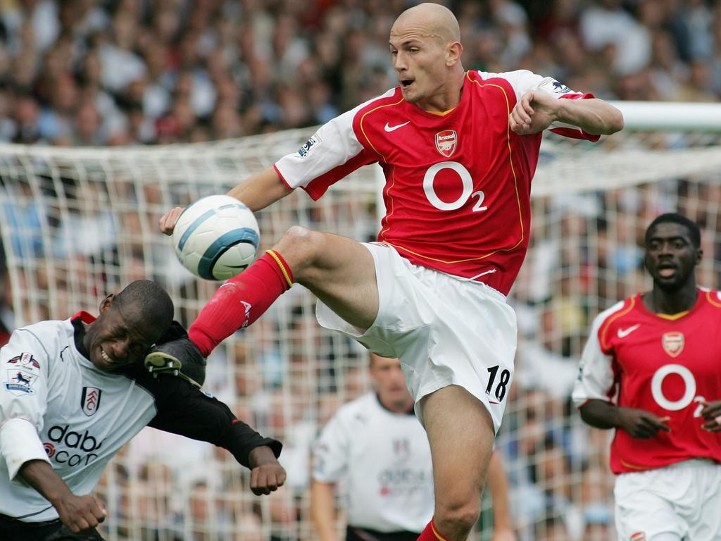 Arsenal's Pascal Cygan didn't mess around when it came to football.