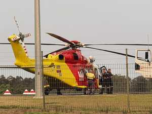 Firefighter winched from national park in serious condition