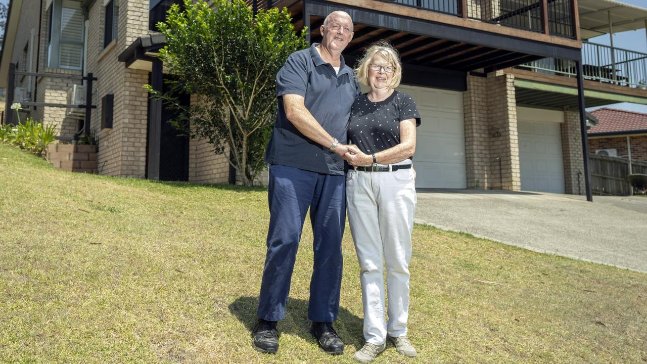 Banora Point retirees Lorraine and Col Gilkison have an extra $15,000 in their retirement fund after taking a new approach to buying their home.