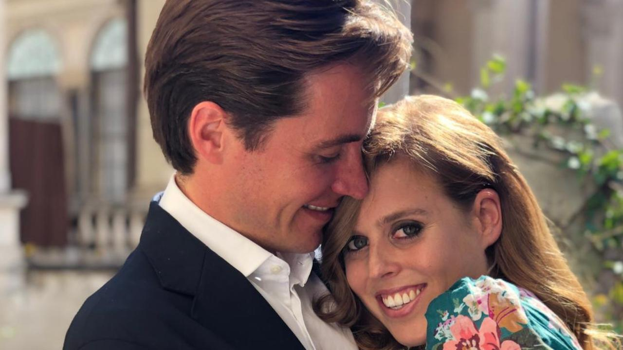 Princess Beatrice announced her engagement to Edoardo Mapelli Mozzi earlier this year. Picture: Twitter/The Duke of York