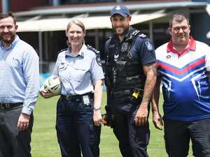 Qld Police, Corrective Services face off for charity