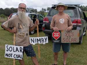 Solar farm only on the 'backburner' opponents warn
