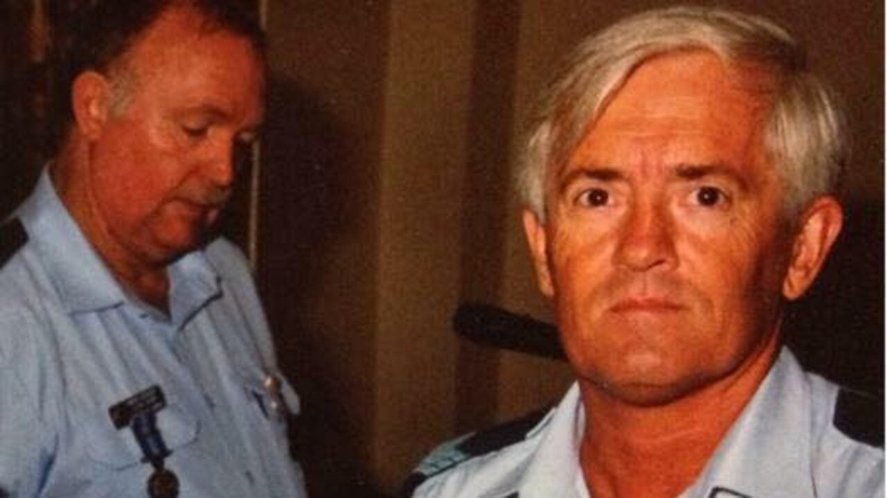 HONOURED: Former Nanango police officer Russel Wendt has been honoured in a new book. Picture: Facebook.