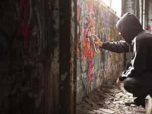 Police investigate graffiti on council property