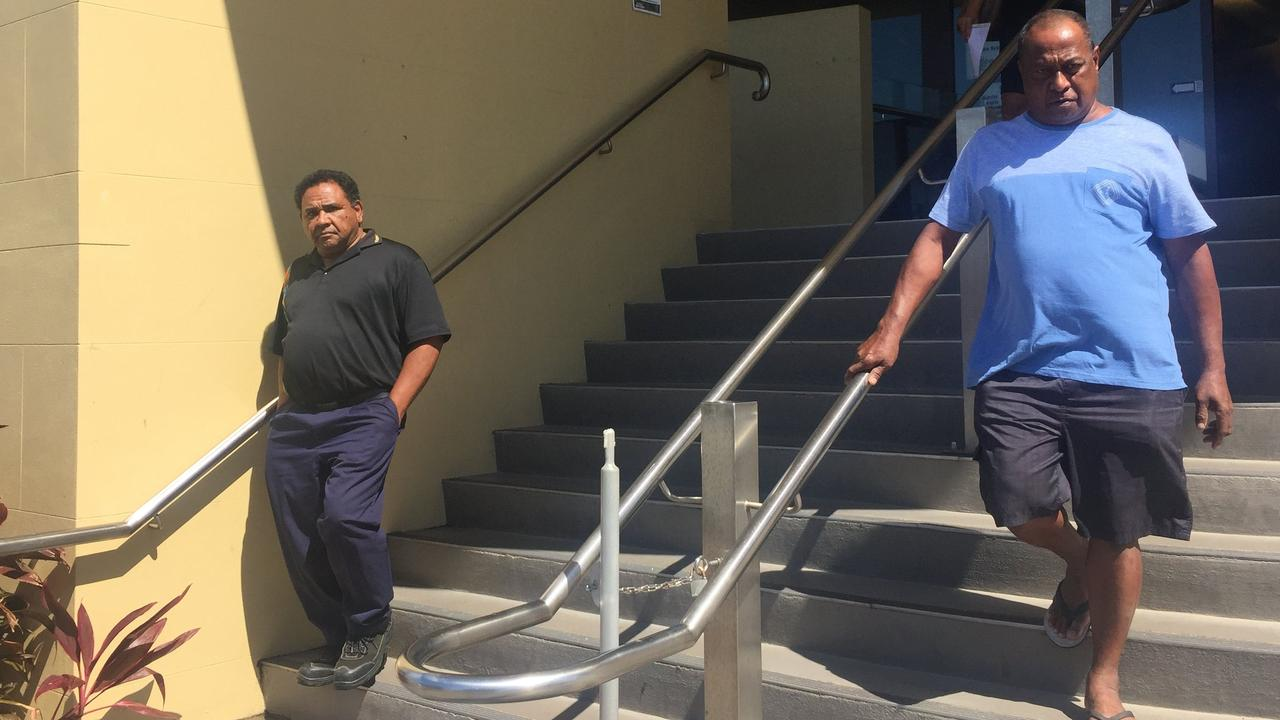 Jaffa Godfrey Ahwang (left) and co-accused Patrick John Sabitino are appealing a $2000 fine handed down to both men after they were found guilty of taking a protected animal.
