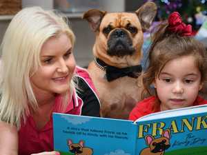 Frank the Frug is a kid's best friend