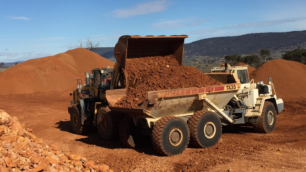 Australian Bauxite Limited has secured a customer in China for bauxite which may be mined from a site in Binjour.