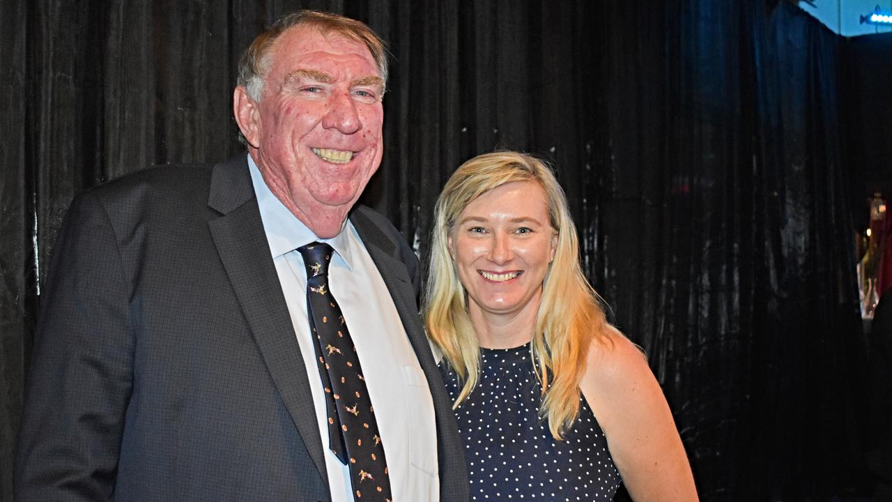 Stephen and Peta Tancred at the chamber of commerce business excellence awards on Saturday night.