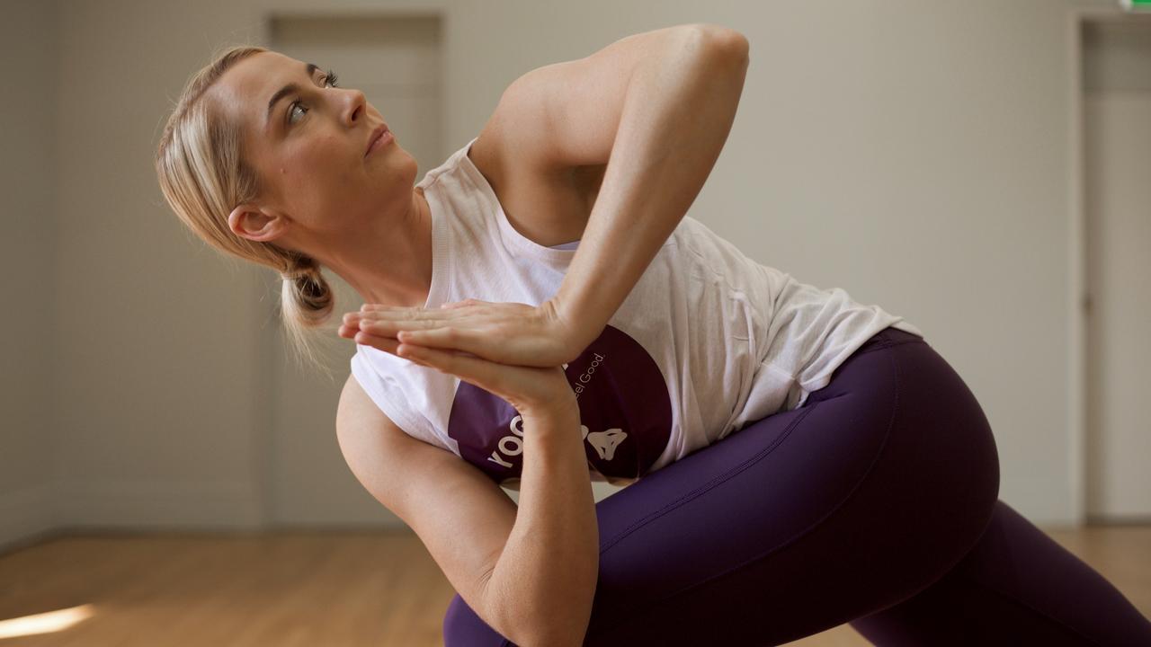 Mackay owner Liz Eales said Yoga Fix would open its studio doors to the community to host a 'Movember Moga Marathon'.