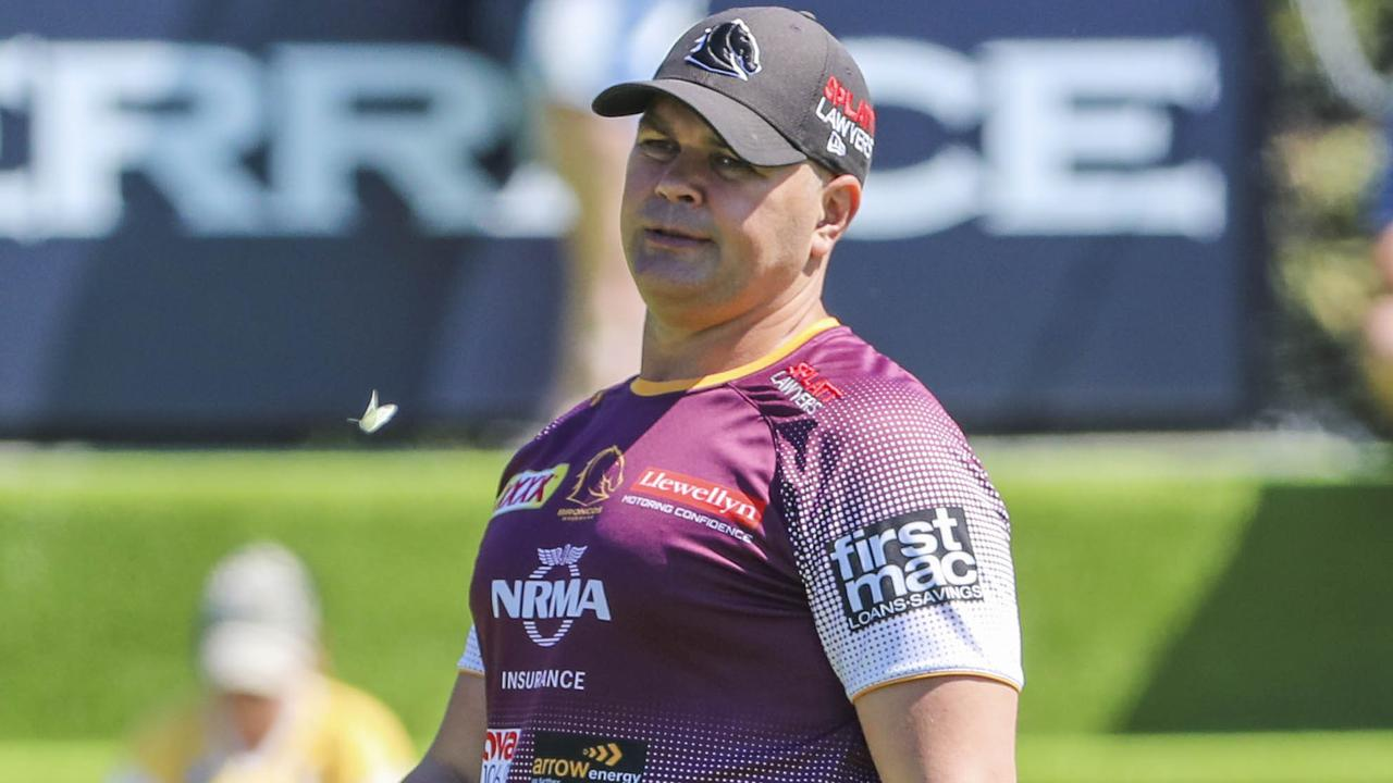 The Broncos won't accept another hellish year from Anthony Seibold. Photo: AAP Image/Glenn Hunt