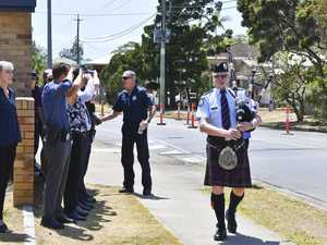 Hervey Bay Sergeant Paul Jervis retires
