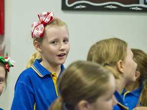 Students bring Christmas cheer