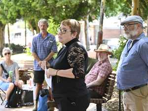 Toowoomba residents gather in prayer for climate action