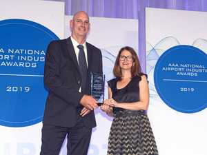 Our airport wins award after bringing magic of reef indoors