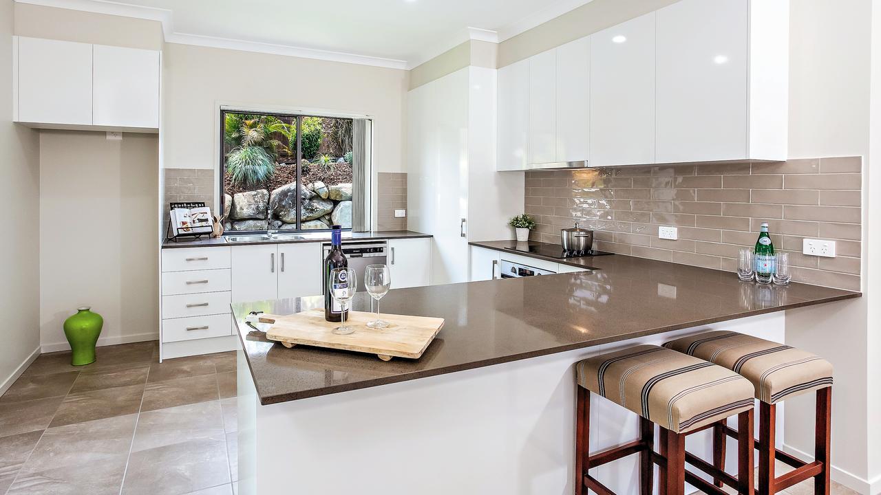 Inside the stunning kitchen of 13 Gardenia Court, Southside.