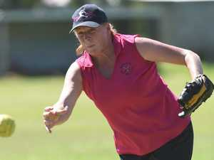 Softballers set sights on striking out cancer