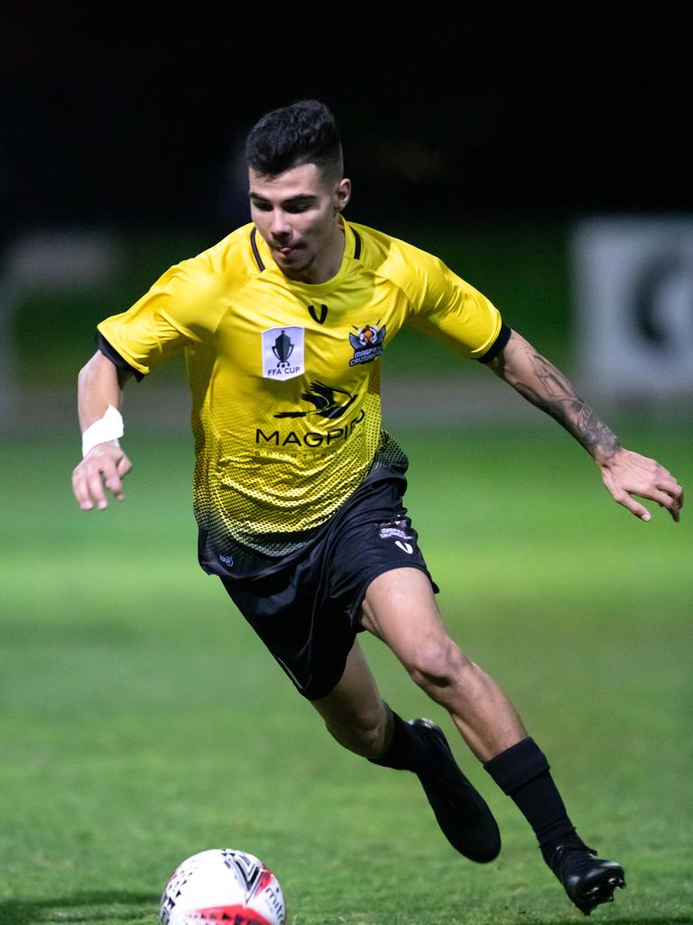The 2017 North Queensland United player will not be short of familiar faces with two former Townsville players already confirmed in the Magpies Crusaders team for 2020.