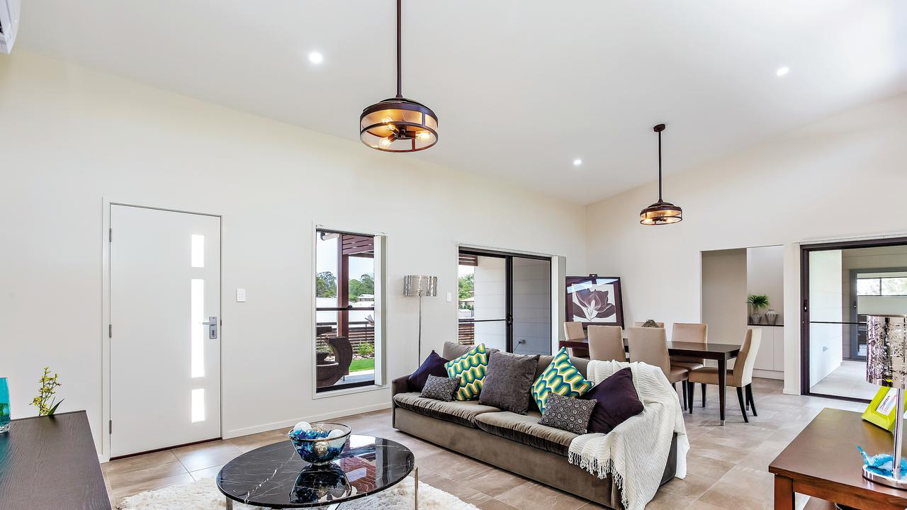 The dining room of 13 Gardenia Court is absolutely amazing and spacious and would be great for a family. Photo: Contributed