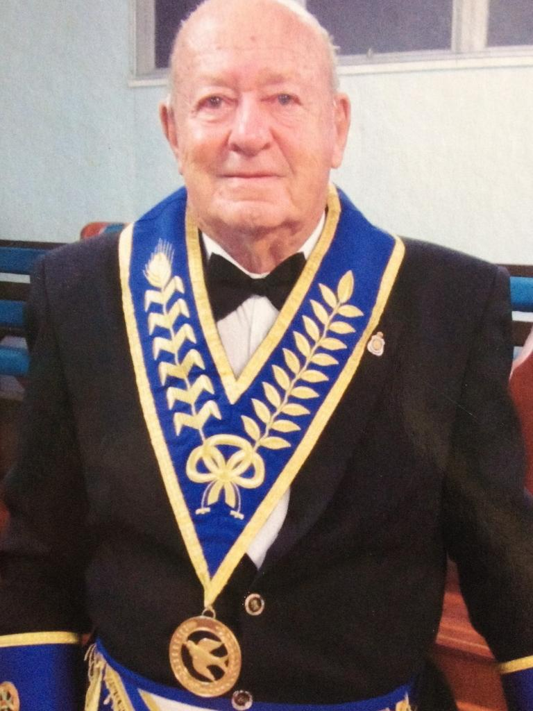 Monty Edmonds was a member of the Freemasons' Walkerston Lodge from 1963.