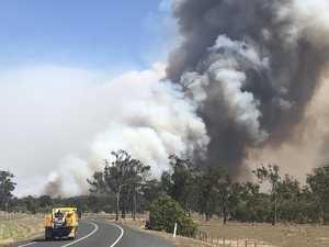 Heatwave, wind, stokes brutal bushfire threat for CQ