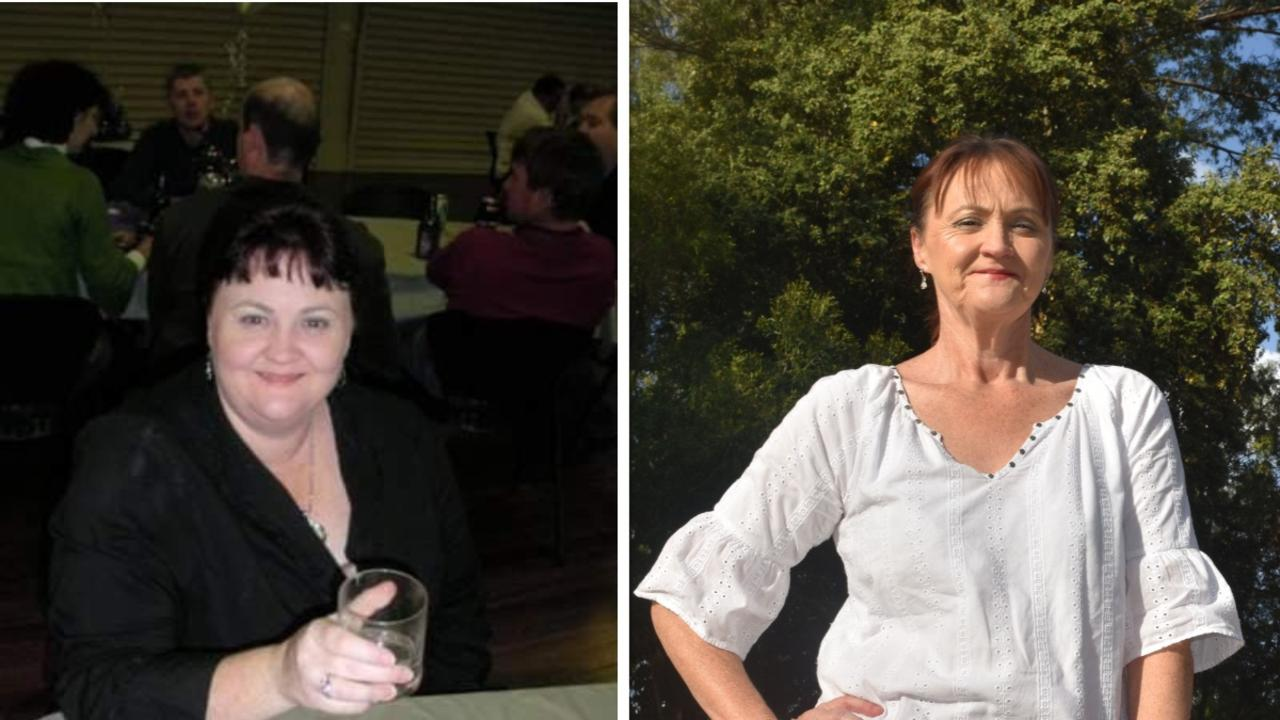 TRANSFORMATION: Susan Hockings started the decade at 130 kilograms, but will be ending it 70 kilos lighter.