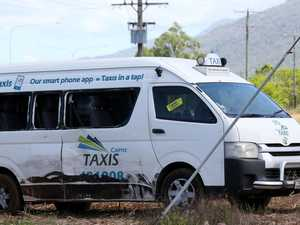 Taxi driver injured in alleged road rage crash