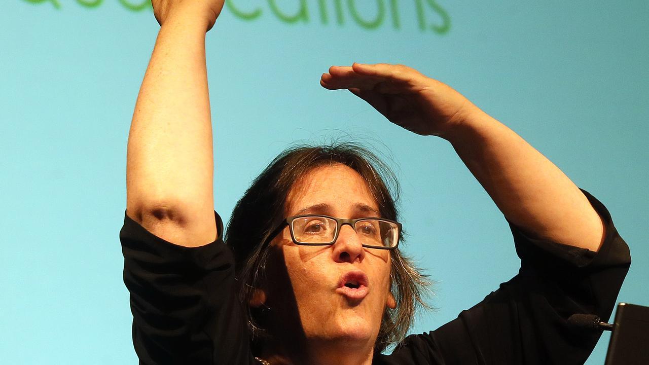 Anti Vaccination Campaigner Meryl Dorey. Pic Glenn Barnes.