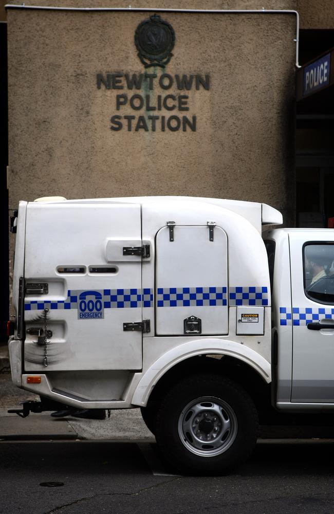 Newtown Police Station, in Sydney's inner west.