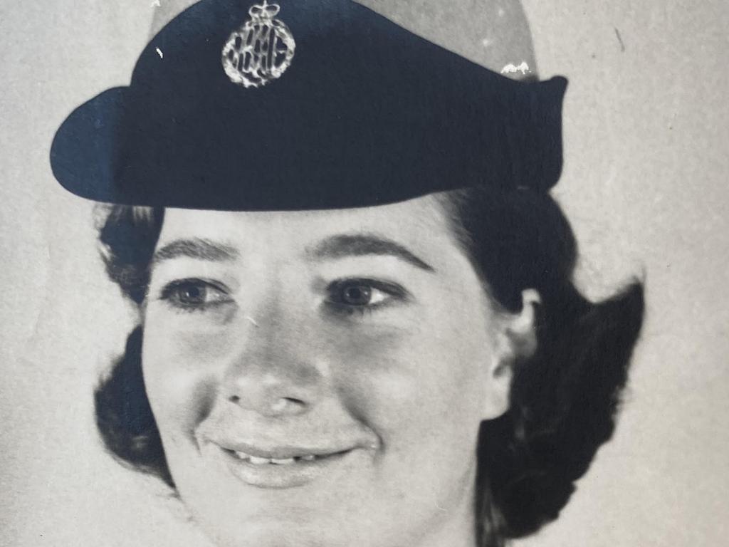 Airforce policewoman Gaye Baker.