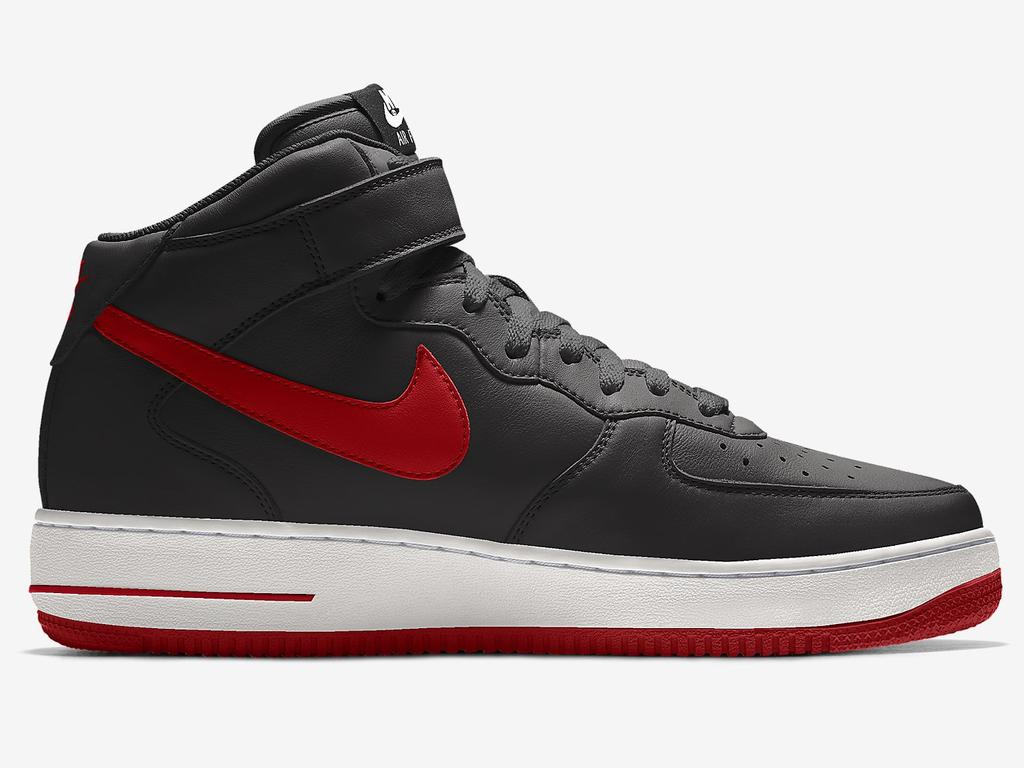 Nike's Airforce 1 Mid By You shoe. Picture: Nike website