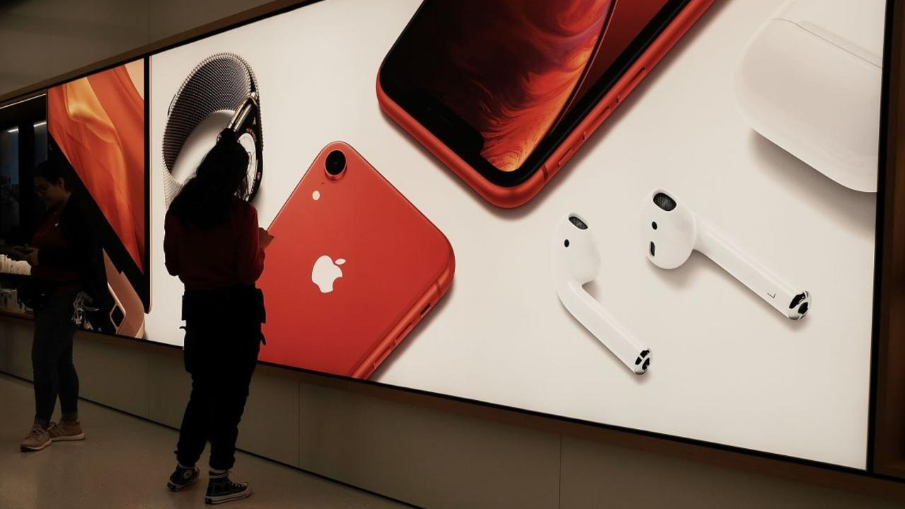 Apple's 2020 line-up will include its largest phone yet. Picture: Spencer Platt/Getty