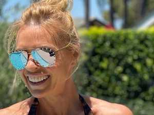 Sonia Kruger stuns in rare bikini selfie
