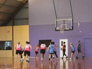 Teams take their shot at basketball competition