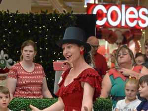 CHRISTMAS: Santa arrives at the Rose City