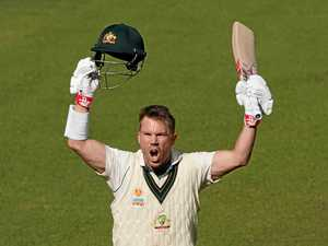 Warner reaches triple ton against Pakistan