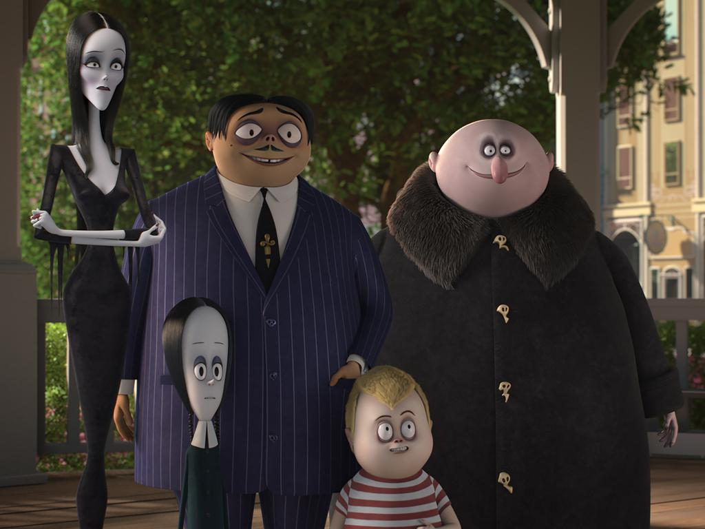 The Addams Family hits the big screen in animated form for the first time.