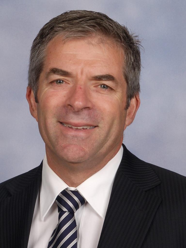 St Joseph's Nudgee College Principal Peter Fullagar.