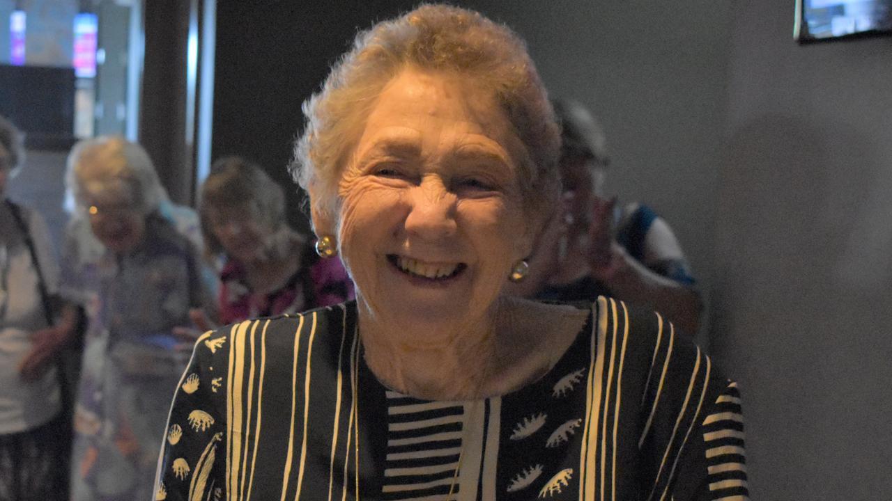 HAPPY BIRTHDAY: Rhonda Bury on her 80th birthday at Charlies Hotel in Gympie on Saturday November 30. Photo: Philippe Coquerand