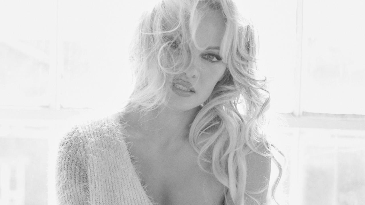 Pamela Anderson has opened up about her life while visiting the Gold Coast. Picture: Antoine Verglas