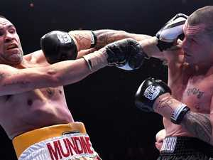 That's it! Mundine 'sails into the sunset' after defeat